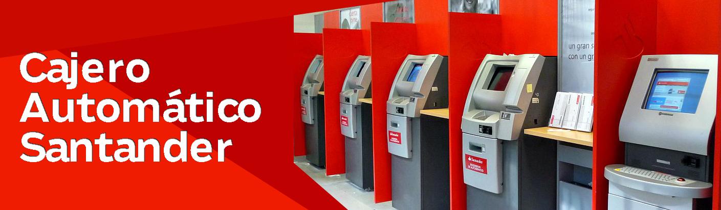 Cajero Automático Santander