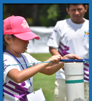 Campamento X'i'ibalil 2019 Grupo Xcaret