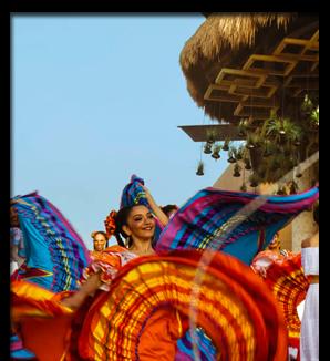 Fiesta Mexicana en Hotel Xcaret México
