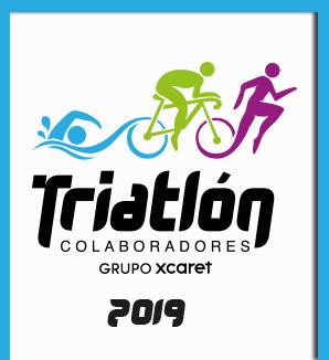 Triatlón para colaboradores Grupo Xcaret 2019